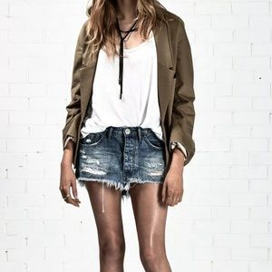 ONE TEASPOON Junk Yard Skirt Royale Skirt Size 26